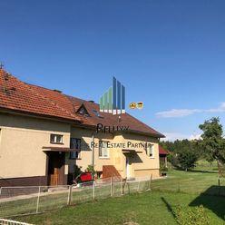 Liptov Nízke Tatry Podtureň predaj 4 izbového rodinného domu s príslušenstvom a pozemkami o výmere 1