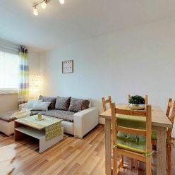 BEZ PROVÍZIE PRE RK: 2-izbový byt po kompletnej rekonštrukcií so zariadením
