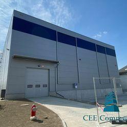 Nová skladová hala na prenájom, 2 124 m2
