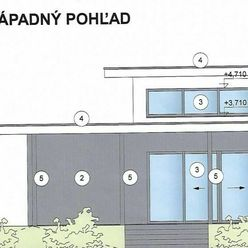 Predaj modernej novostavby 4 izb. rodinného domu s pivnicou - 12 km od Trnavy - veľký pozemok