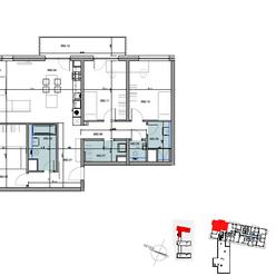 4 - izbový byt B82