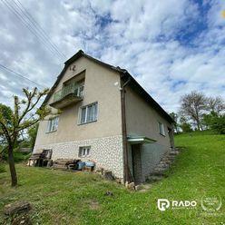 IBA U NÁS! Rodinný dom s pozemkom v obci Dohňany okres Púchov - Predaj