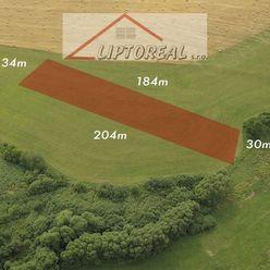 Znížená cena-Predaj pozemku 6030 m2, Liptovský Trnovec