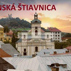 Budova BANSKÁ ŠTIAVNICA !! - na rekonštrukciu pre bytový dom, hotel, penzión - POVRAZNÍK s výhľadom