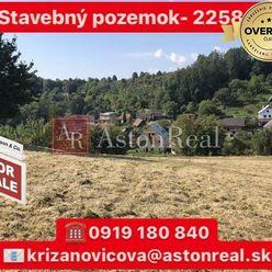 NA PREDAJ: Stavebný pozemok v obci Pruské- 2258 m2