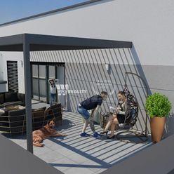 NOVOSTAVBA_4 izb. byt ''605'' s balkónom a terasou /186m2/ širšie CENTRUM - ŽILINA