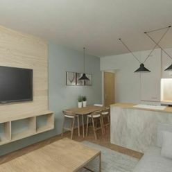 REZERVOVANÉ • K nasťahovaniu stačí 15% • 2 izbový byt • Ružomberok