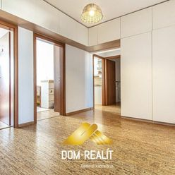 DOM-REALÍT ponúka pekný 4izbový byt v Petržalke, Znievska ul.