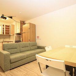 HERRYS - Na prenájom priestranný zariadený 2 izbový byt s veľkým balkónom v Slnečniciach - zóne MEST