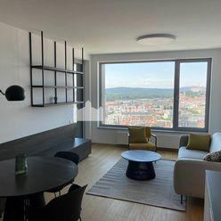 Exkluzívny 2i byt s lodžiou v jedinečnej novostavbe na prenájom v Starom meste