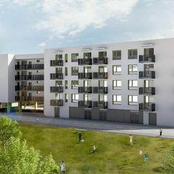 NOVÉ ZLATOVCE - B2.1 / 3-izbový byt, 76 m2, balkón, 2. poschodie/3., NOVOSTAVBA