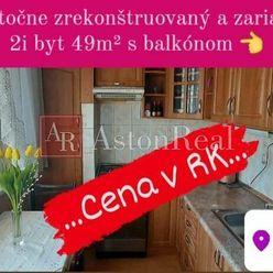AstonReal: EXKLUZÍVNY predaj 2i byt 49 m2 s balkónom v Kežmarku