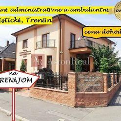 Luxusné administratívne a ambulantné priestory, Piaristická, Trenčín