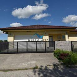 PREDAJ - NOVOSTAVBA  4 izbový rodinný dom , Tomášikovo