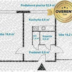 Predaj 2 izb.byt Bratislava Ružinov, Rezedova ul.