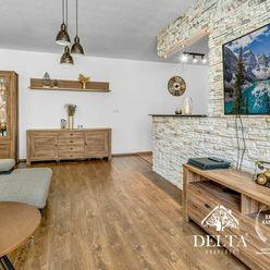 DELTA | kompletne zariadený 2 izbový byt s veľkou terasou a balkónom v obľúbenom Ružinove