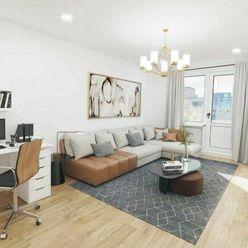 Exkluzívne veľký, slnečný 2-i byt s balkónom – BA II – RUŽINOV – Jašíkova ul.