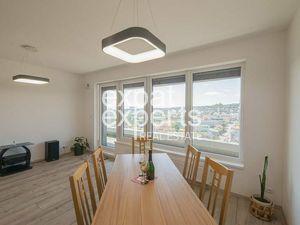 Nadštandardný, nezariadený 3i byt, 88m2, úžasný výhľad, Premiére