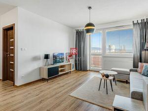 HERRYS - Na predaj 2 izbový byt s lodžiou, murovanou pivnicou a garážovým státím v novostavbe Nobelo