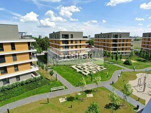 Predaj, 1 izb. apartmánový byt (25,73 m2 + balkón 4,96 m2)  v novostavbe Nový Ružinov, Bajkalská ul.