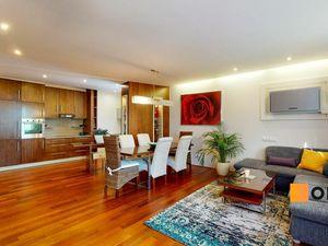 Priestranný 3 izb.byt 113m2+11m2 loggia,šatník,práčovňa,klimatizácia,parking v TOP lokalite ul. Papr