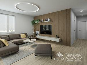 DELTA | Bory Bývanie 2 - Strešný 3 izbový byt s terasou v novostavbe, Lamač / Devínska Nová Ves, 108