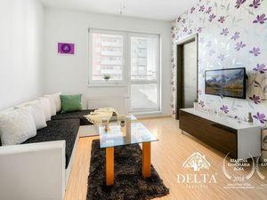 DELTA | 2 izbový ZARIADENÝ byt s parkovaním, Nejedlého - Dúbravka, 44 m2