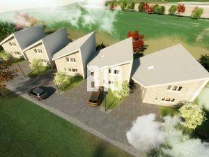 5 rodinných domov v radovej výstavbe Beluša - Rybníky