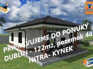 PRIPRAVUJEME: RD 4iz 97m2, terasa 29m2 Nitra-Kynek