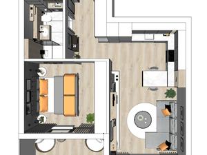 2 IZB. byt v novostavbe Bazová