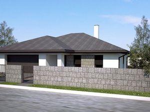 Novostavba Trnava Pekné pole  - Veľký luxusný 5 izbový bungalov s dvojgarážou na priestrannom pozemk