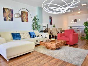 Predaj rozľahlý 2 izbový byt s terasou a garážovým státím (124 m2), Koliba.