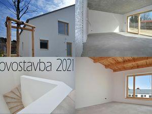 PREDAJ DVOJDOM  STUPAVA -  NOVOSTAVBA, unikátny 5 izbový byt 128 m2 v dvojdome (len 2 byty) vlastná