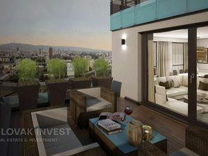 SLOVAK INVEST - VÝNIMOČNÝ 5 IZB. BYT 231.66 m2 S TERASAMI 61.24 m2, 22.poschodie, NOVOSTAVBA, RUŽINO