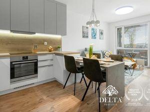 DELTA   PRENÁJOM: NUPPU - Zariadený 2 izbový byt v novostavbe, Ružinov, 54 m2