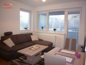Ponúkame na prenájom zariadený 2-izbový byt na Ružinovskej ulici v novostavbe Cityhouse Ružinov od 1