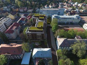 Posledný 1 izbového byt s veľkou terasou v centre mesta!!!
