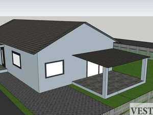 Na predaj novostavba 4 izbového rodinného domu Galanta Kolónia