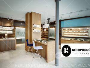 Prenájom obchodných priestorov 168 m2 Komenského rezidencia, Žilina