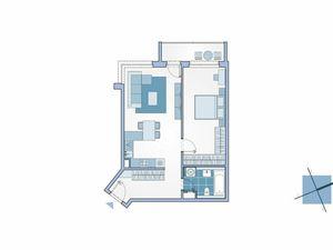 2-izbový byt s lodžiou v novostavbe na ulici Mlynské Nivy, Ružinov