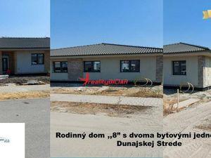Novostavba rodinný dom v Dunajskej Strede