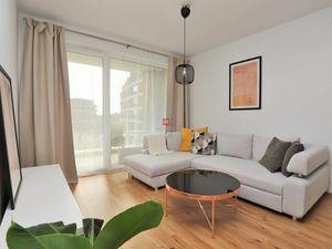 HERRYS - Na prenájom úplne kompletne zariadený 3 izbový apartmán s garážovým státím v novostavbe Nov