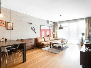REZERVOVANÝ - veľkometrážny 2 izbový byt v novostavbe Tatra City na začiatku Petržalky s parkovaním