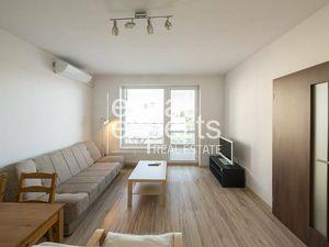 Svetlý 2i byt, 48m2, zariadený, klimatizácia, balkón, Jégého Alej
