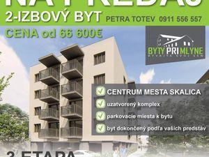 PREDAJ - Luxusný 2-izb. byt v novostavbe v Skalici