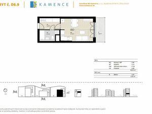 NOVOSTAVBA: 1-izbový byt zariadený v štandarde (D6.9)