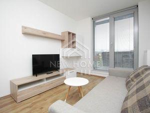 PRIEVOZSKÁ - 2  iz. byt, novostavba, balkón 5 m2, PIVNICA, vstavané skrine