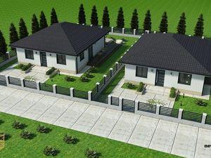 NA PREDAJ novostavba rodinného domu - bungalov v obci Ivanovce (RD1)