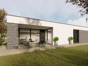 REZERVOVANÝ - HRUBÝ ŠÚR-nízkoenergetický samostatný 4 izb. rod. dom s garážou