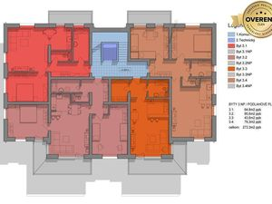 Priestranné 3 izbové byty s balkónom a pohodlným parkovaním na Muškáte